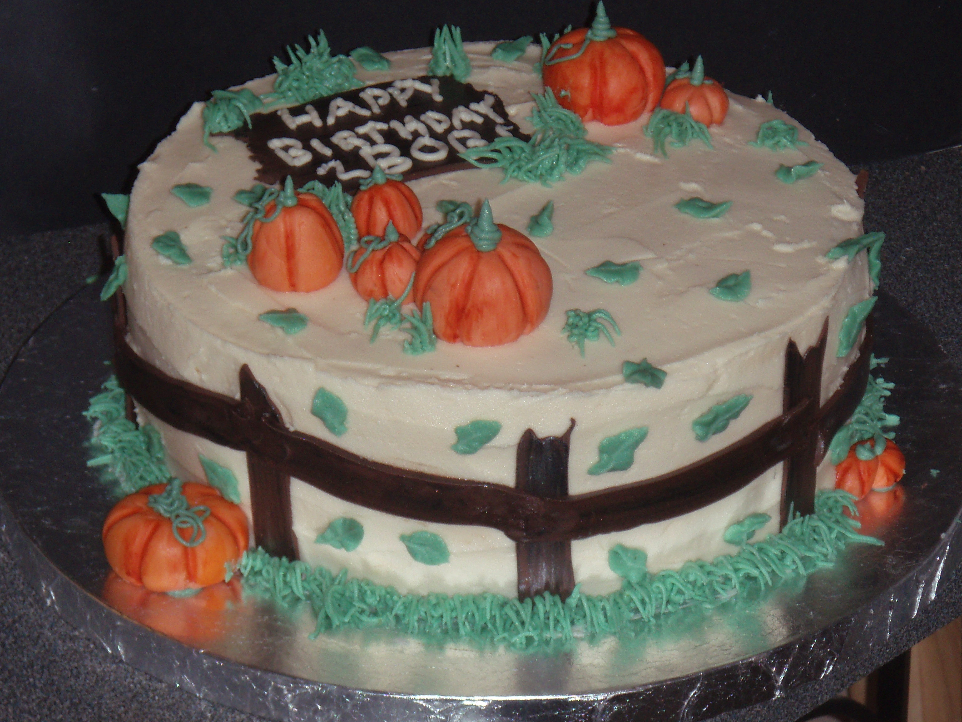 Fall Birthday Cakes GaLori